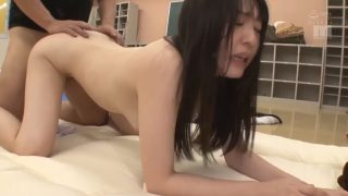 Phim sex gái xinh Tsubomi bị đụ liên tục sau cuộc sơ tán vì bão